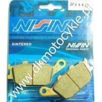 Klocki Hamulcowe Nissin 2P244 ST Sintered złote Tył