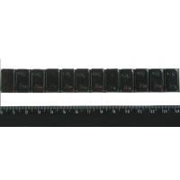 Klejone ciężarki do kół aluminiowych 12x5g czarne 1 listek