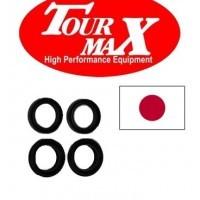 Uszczelniacze przedniego zawieszenia z kapturkami przeciwpyłowymi 36x48x11 TOURMAX Japońskie
