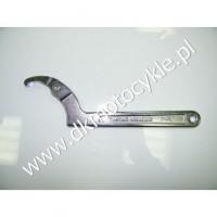 Przegubowy klucz hakowy 50-120mm do główki ramy