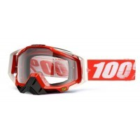 Gogle off-road 100% RACECRAFT FIRE RED szyba clear