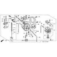 Kompletna przepustnica Honda CR 125/250 R 05-07