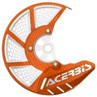 OSŁONA TARCZY HAMULCOWEJ PRZEDNIEJ Acerbis X-BRAKE 2.0 cross enduro orange