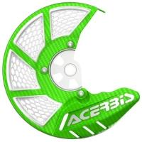 OSŁONA TARCZY HAMULCOWEJ PRZEDNIEJ Acerbis X-BRAKE 2.0 cross enduro green