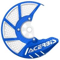 OSŁONA TARCZY HAMULCOWEJ PRZEDNIEJ Acerbis X-BRAKE 2.0 cross enduro niebieski