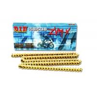Łańcuch napędowy DID 530 ZVMX 106 ogniw Hiper wzmocniony X2-ring