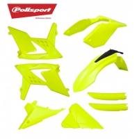 Polisport komplet plastików fluo Beta RR 250/300 2T 13-17, 350/390/430/480 4T 13-17
