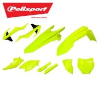 Polisport komplet plastików fluo KTM SX 125/150, SXF 250 16-18