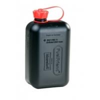 Kanister z tworzywa do paliwa/oleju 2L. kolor czarny Huenersdorff