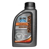 BEL-RAY  V-Twin 20W50 Mineralny 1L do silników widlastych + filtr oleju