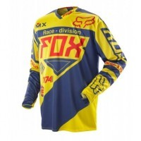 BLUZA FOX 360 INTAKE YELLOW/BLUE OFF-ROAD HIT 2014 !!