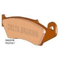 Klocki hamulcowe przód Delta Braking DB2230MX-D