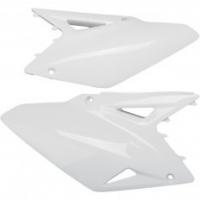 Boczki tył UFO Suzuki RMZ 450 05-06 białe