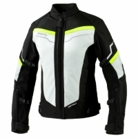 KURTKA TEKSTYLNA REBELHORN DISTRICT ICE/BLACK/FLUO YELLOW