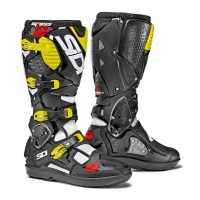 Buty motocyklowe off-road SIDI Crossfire 3 SRS black/white/yellow Fluo