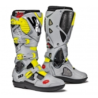 Buty motocyklowe off-road SIDI Crossfire 3 SRS grey/yellow Fluo