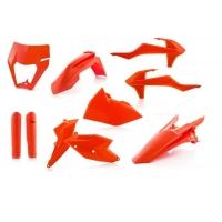 KOMPLET PLASTIKÓW Full pomarańczowy ACERBIS KTM EXC/EXC-F 2017-2019