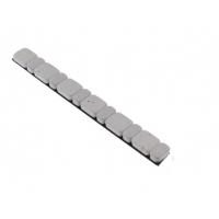 Klejone ciężarki do kół aluminiowych 6x5g + 6x2,5g cynkowy biały 1 listek