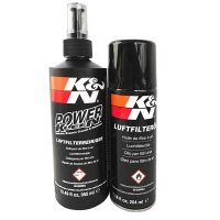 Komplet czyszczący K&N Płyn czyszczący + olej