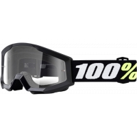 Gogle cross enduro 100% STRATA MINI BLACK