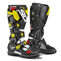 Buty motocyklowe cross enduro SIDI Crossfire 3 White/Black/Yellow Fluo