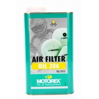 Olej do filtrów powietrza MOTOREX AIR FILTER OIL 206 1L