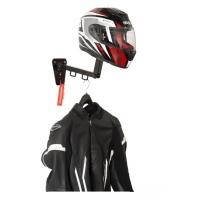 Wieszak motocyklowy na kask oraz odzież