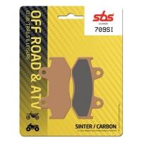 Klocki hamulcowe SBS 709SI Tył Yamaha YFZ 450 S  06-09 YFM 700 Raptor 13-14