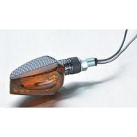 Kierunkowskaz tuning krótki carbon przyciemniane szkło