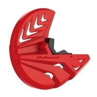Osłona tarczy hamulcowej przód Polisport Beta 250 300 RR 20-22 2T, Xtrainer 350 390 430 480 RR 4T (RED)